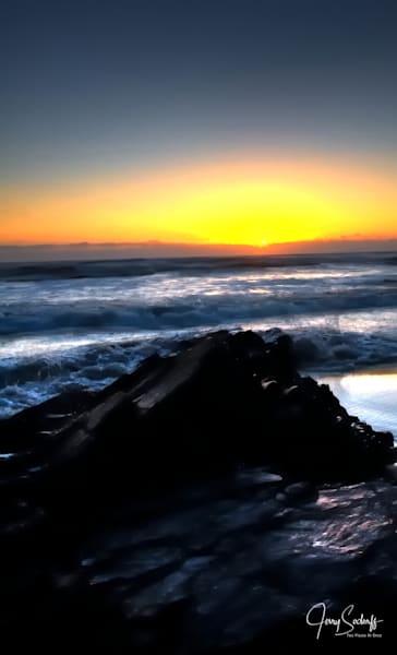 Sunset Waves 17856