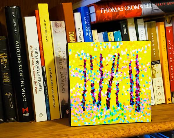 Walking Through The Colours Art | Jim Pescott Art