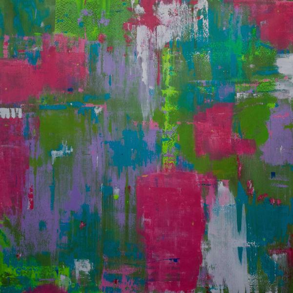 Multicolor art- original abstract paintings and prints by Lesley Koenig Fine Art.