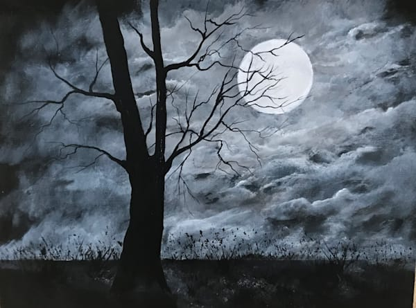 Stormy Night Art | House of Fey Art