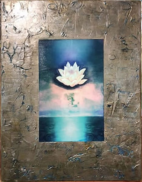 "Inner Bloom, 18x24""   Big Vision Art + Design"