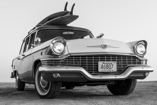 1964 Studebaker & Vintage Surfboards #4 Photography Art | Kit Noble Photography
