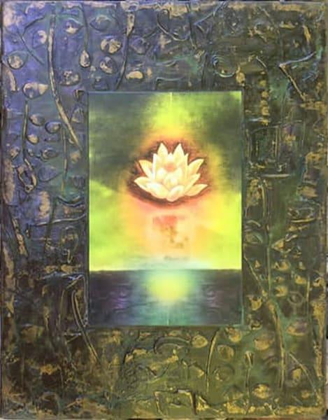 "Fountain Of Eternal Life, 18x24""   Big Vision Art + Design"