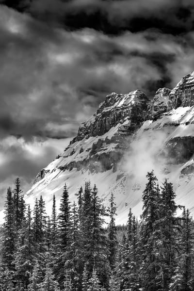 A scene from the drive north from Banff to Jasper. Banff National Park|Canadian Rockies|Rocky Mountains|