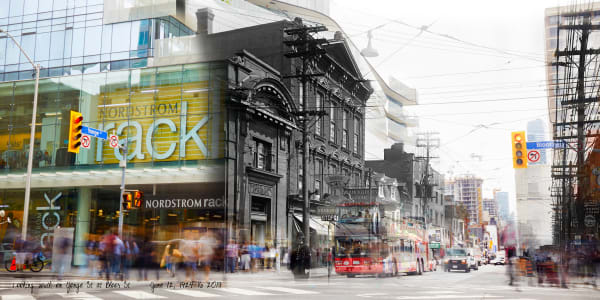Past Present - Bloor & Yonge Intersection