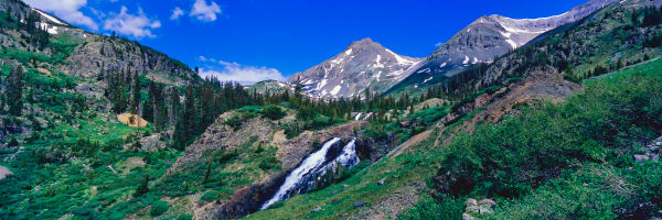 Waterfall Yankee Boy Basin Colorado Photography Art | ePictureGallery