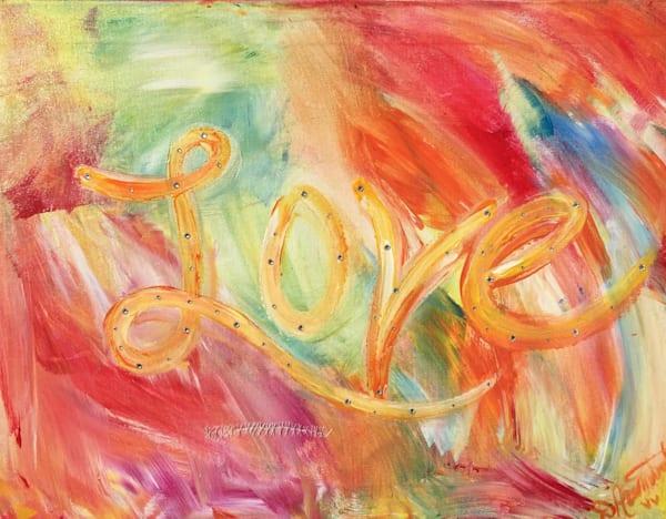 Love Abstract  Art   Heartworks Studio Inc