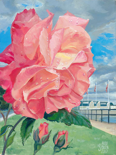 Boulevard Rose Art | capeanngiclee