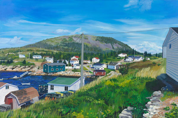 St Jaques Newfoundland Art | capeanngiclee