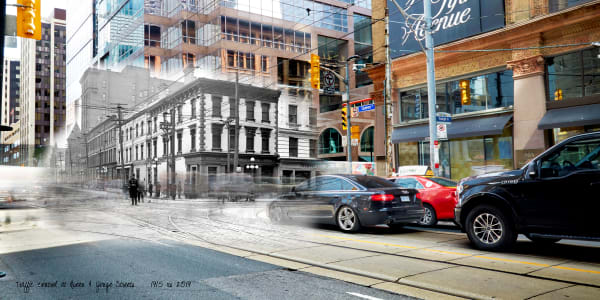 Past Present - Queen at Yonge Sts
