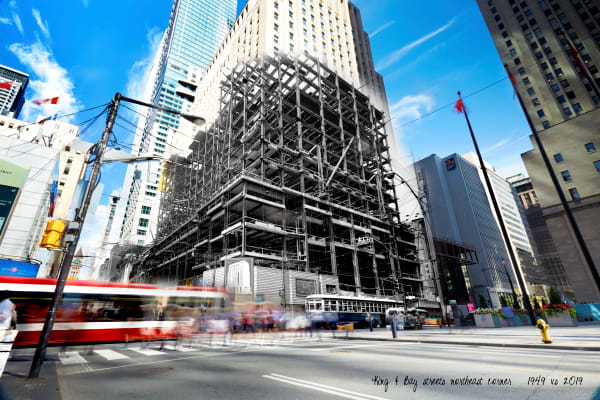 Past Present - Scotiabank under Construction