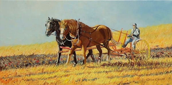 Draft Horses Art | Glen Collin Arworks Inc.