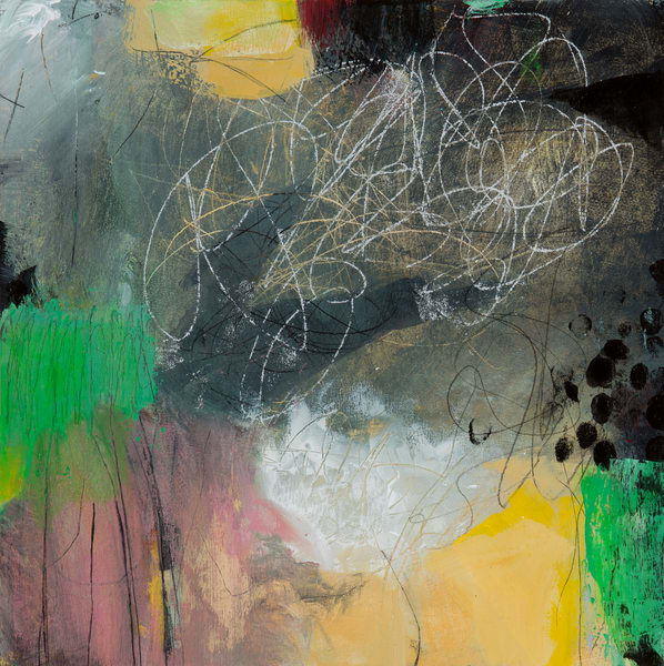Abstract With Dots Art | Debbie Dicker - Art