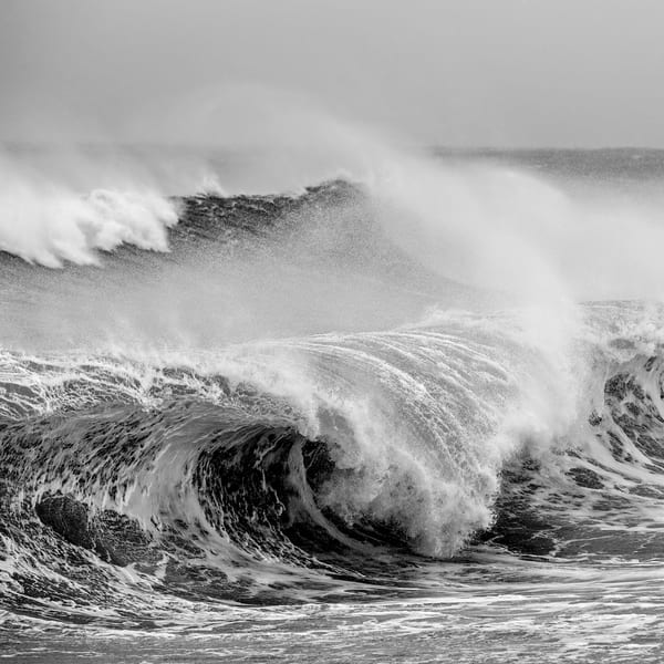 Tempest Wave (Square) Photography Art   Kit Noble Photography