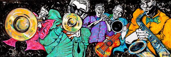 """Dat Band"" Art   Jamila Art Gallery"