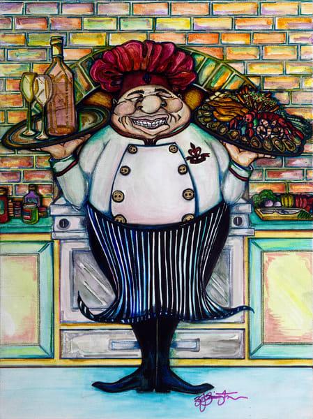 """Fleur De Chef"" Art   Jamila Art Gallery"