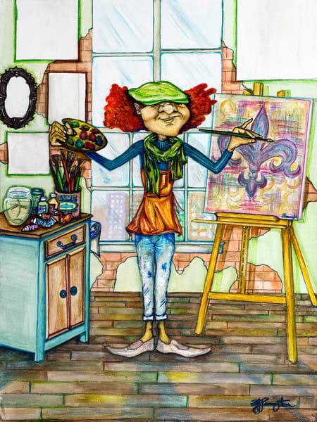 """""""Fleur De Art"""" Art   Jamila Art Gallery"""
