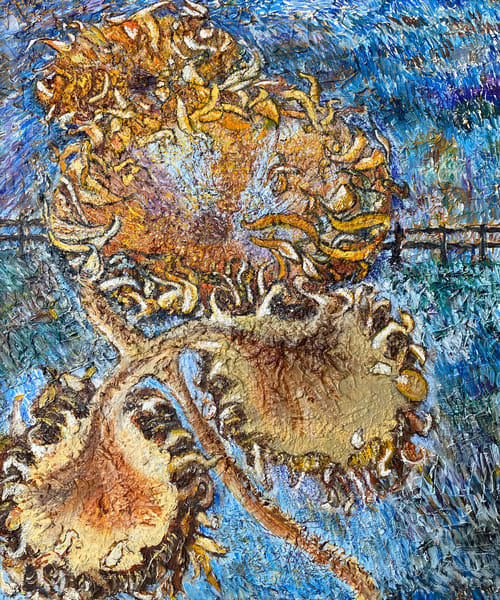 Sunflowers Art | Jenny McGee Art