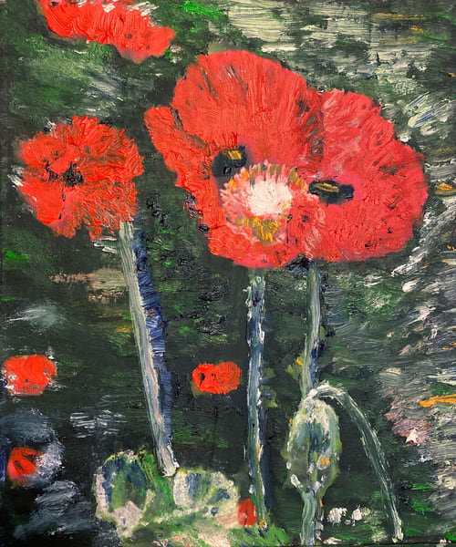 Poppies Art | Jenny McGee Art