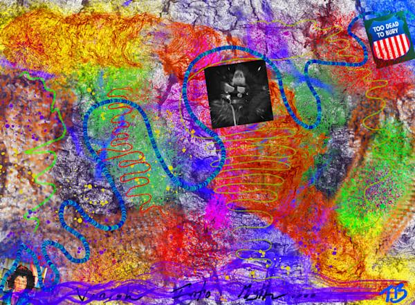 Decay on the Vine Digital art by multi media artist Todd Breitling