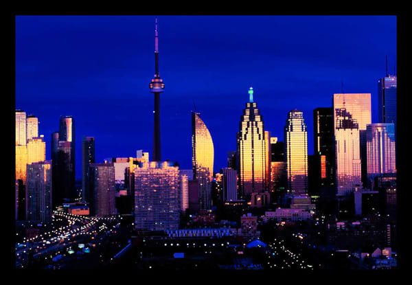 Toronto Skyline Dawn Photography Art | FocusPro Services, Inc.