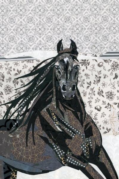 Black Horse Sojourner Truth Art Print | Artist Jenny McGee