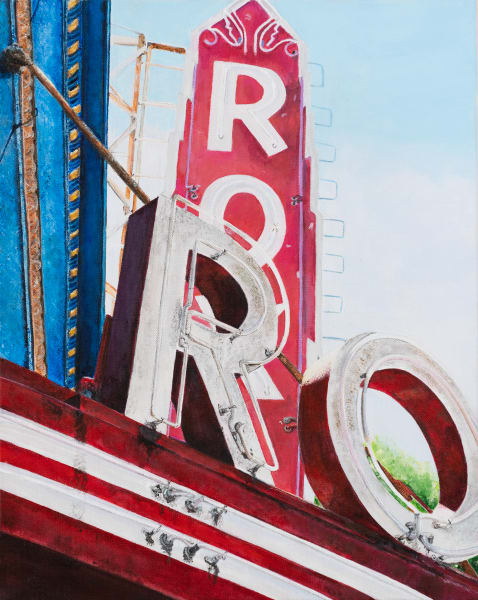 Roxy Theater:  Original Paintings and Fine Art Prints by Artist Shane O'Donnell