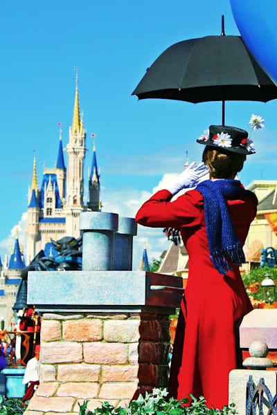 Mary Poppins Dreams Come True Parade - Disney Artwork for Sale