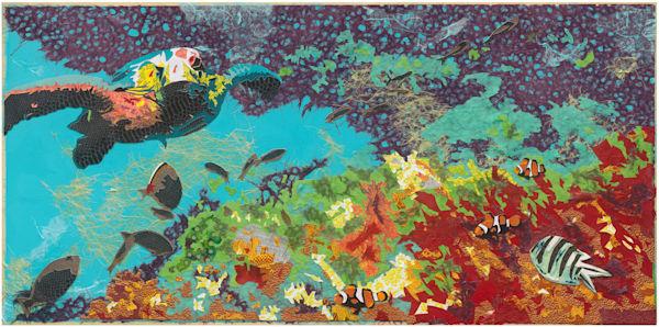 Reef Art   Made by Kristi