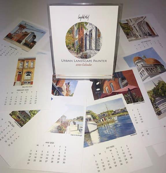 Crystal Moll 2020 Desk Calendar