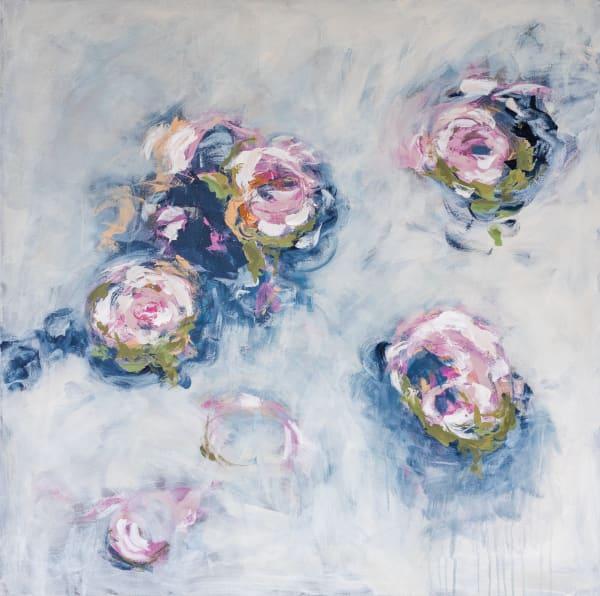 Wintry Garden Art | Claire Gowdy Art