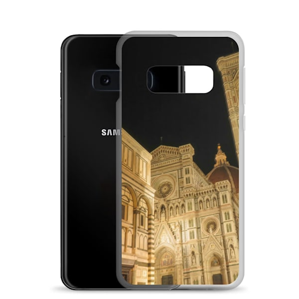"""""""Piazza Di San Giovanni At Night"""" Samsung Case 