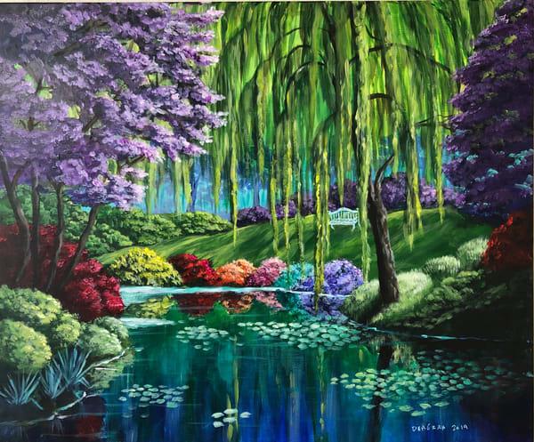 Monet's Garden Art | House of Fey Art