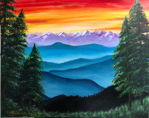 Beyond The Foothills Art | House of Fey Art