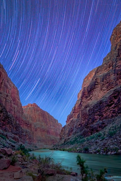 Star Trails of the Grand Canyon