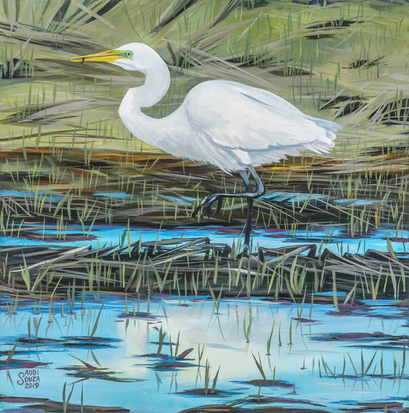 Lunchtime At The Marsh Art | capeanngiclee