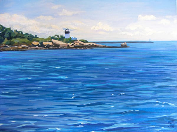 Ten Pound Island Lighthouse Art | capeanngiclee