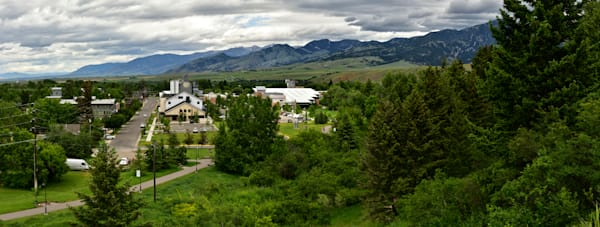 Petes Hill - Bozeman Montana Pano - Fine Art Prints on Metal, Canvas, Paper & More By Kevin Odette Photography