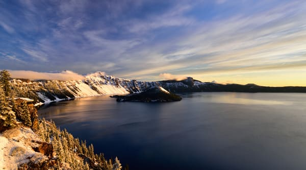 Wizards Respite - Wizards Island Crater Lake Oregon - Fine Art Prints on Metal, Canvas, Paper & More By Kevin Odette Photography