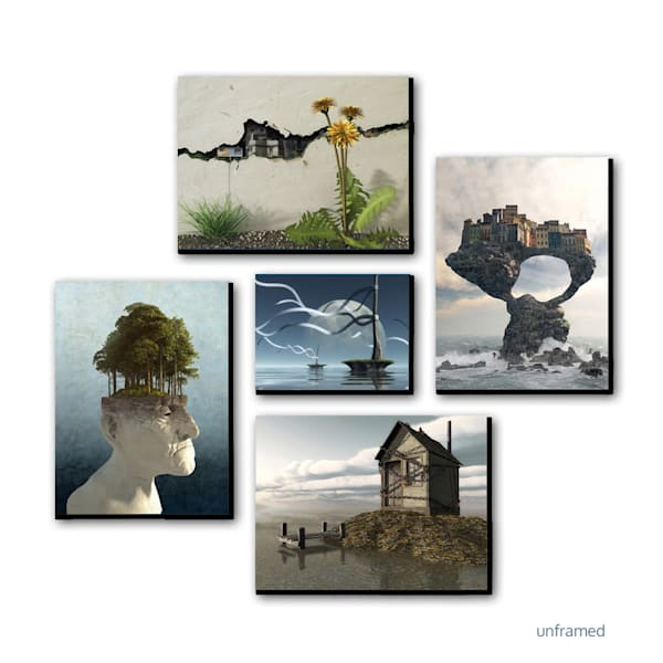 Surreal | Canvas Groups | Cynthia Decker