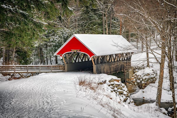 Flume Covered Bridge | Shop Photography by Rick Berk