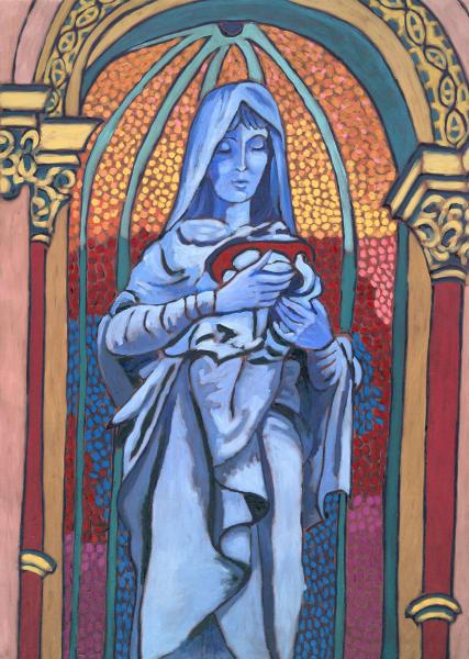art, paintings, mary, christian art, catholic art, religious