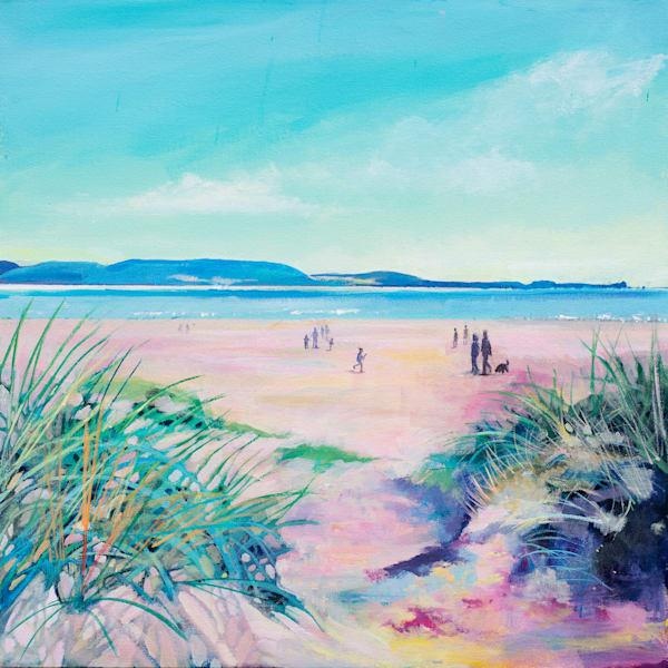 Cefn Sidan Beach Art   Denise Di Battista