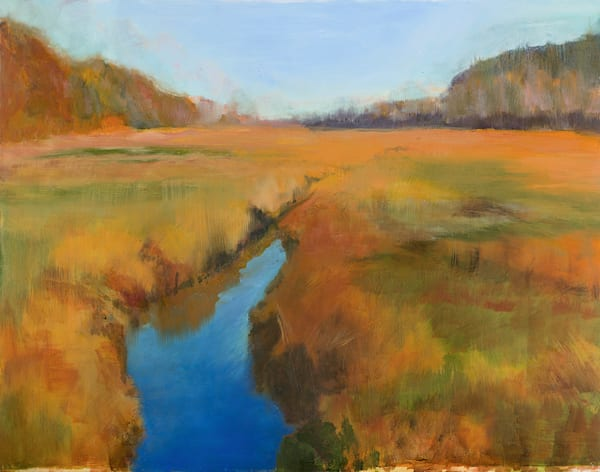 Autumn Estuary Art | capeanngiclee