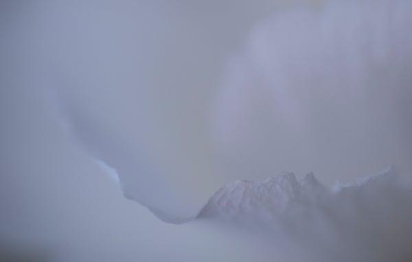 Snowy Peak Photography Art | Kathleen Messmer Photography