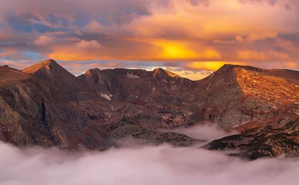 Landscape photograph of Colorado's Mount Ida - RMNP Colorado