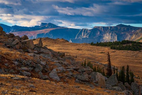 Photo of Colorado Mountain Range & Alpine Tundra Forest Canyon Overlook RMNP