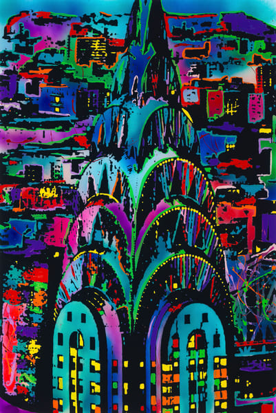 The Chrysler Building | Places Art | JD Shultz Art
