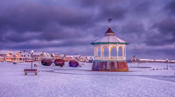 Ocean Park Winter Morning Art | Michael Blanchard Inspirational Photography - Crossroads Gallery