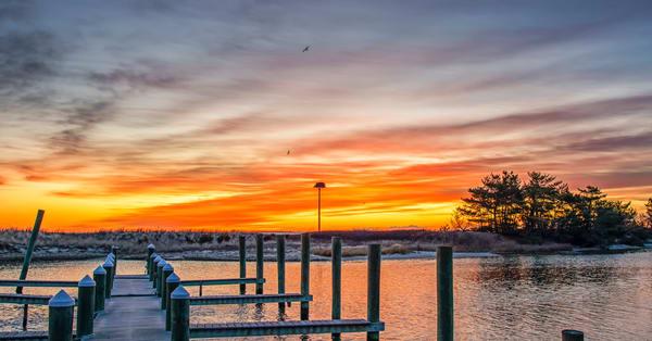 Harthaven Winter Sunrise Art | Michael Blanchard Inspirational Photography - Crossroads Gallery